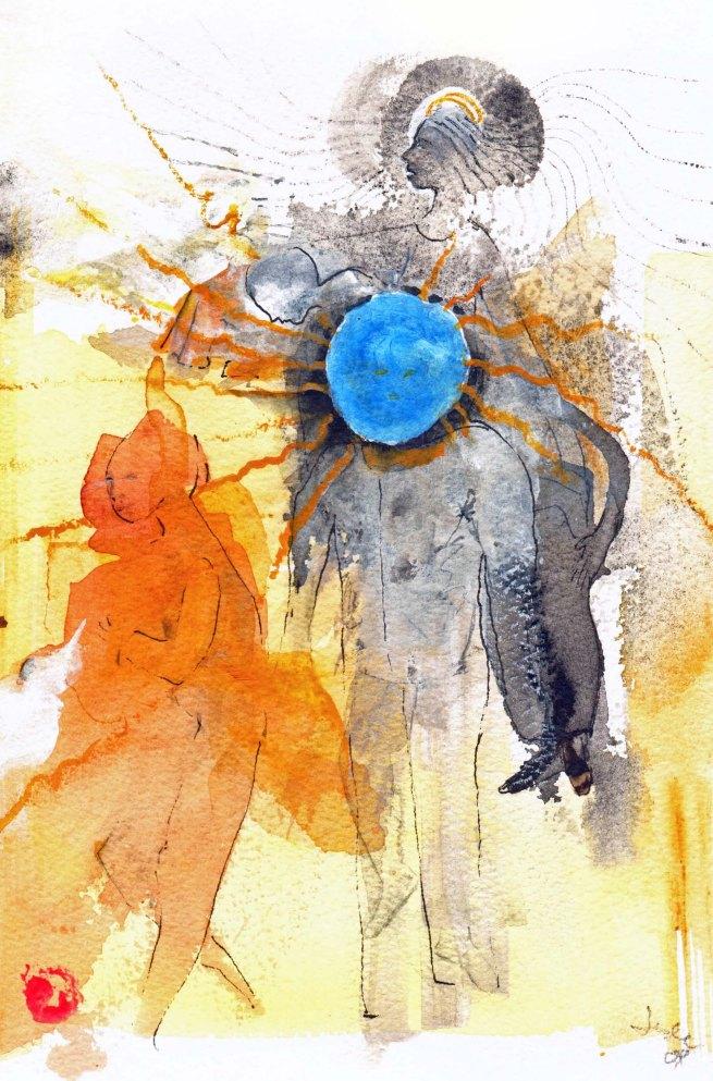 Blue bulb