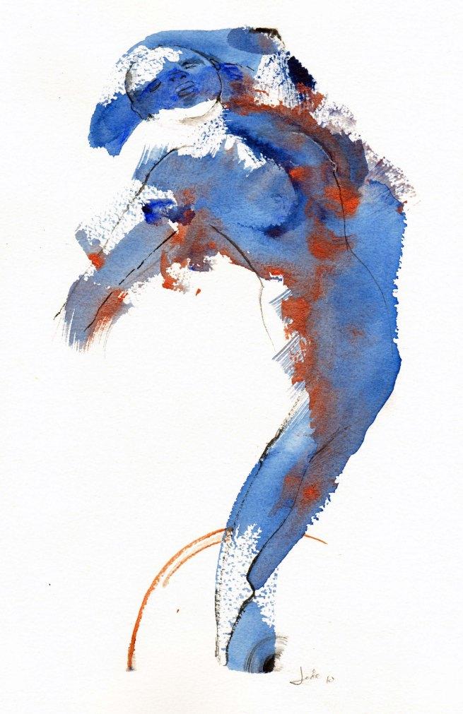 Blue birth