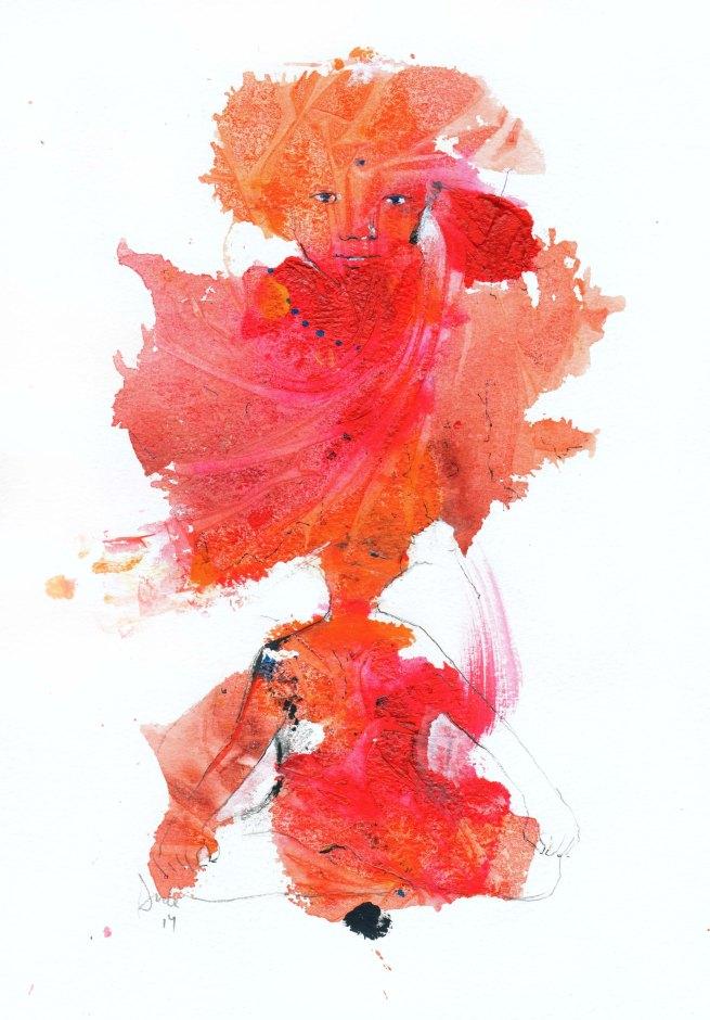 Red asana