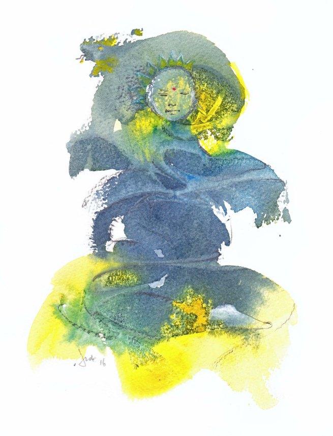 Buddha's embrace